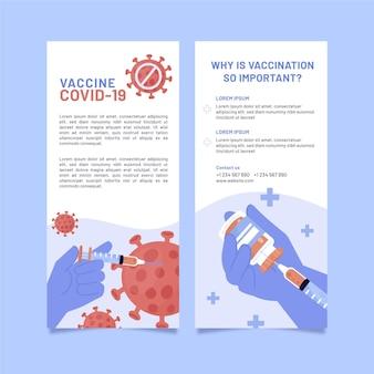 Brochure informativa sulla vaccinazione contro il coronavirus