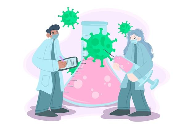 Концепция разработки вакцины против коронавируса