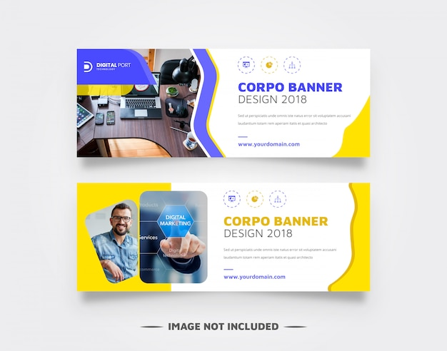 Corpo - бизнес веб-баннер