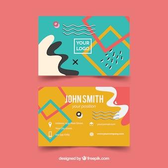 会社の抽象カード