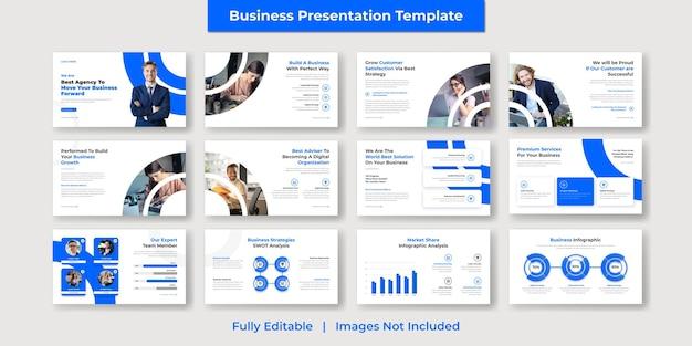 企業および現代のビジネスパワーポイントのプレゼンテーションとgoogleスライドテンプレートのデザイン
