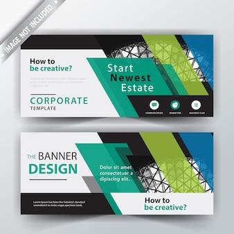 Corporate banner illustration