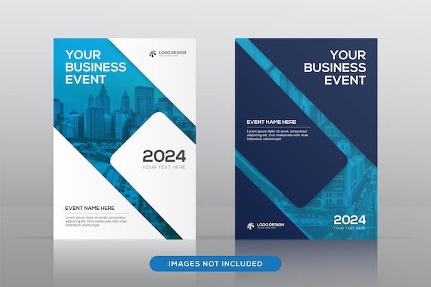 Corporate book cover design template