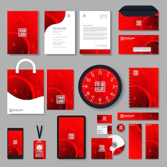 Progettazione dell'identità del marchio aziendale