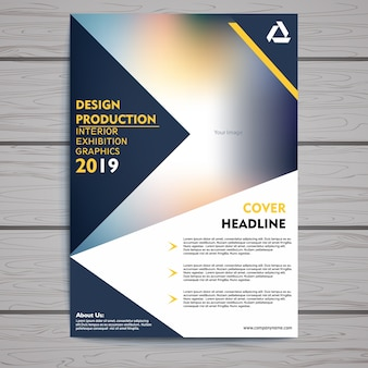 Corporate brochure/flyer template