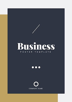 Corporate brochure and poster template
