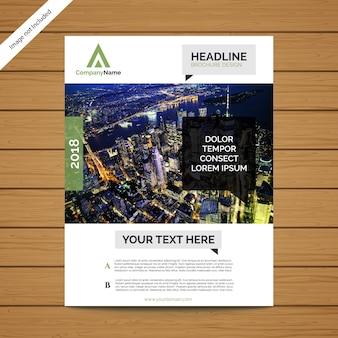 Шаблон корпоративного брошюры