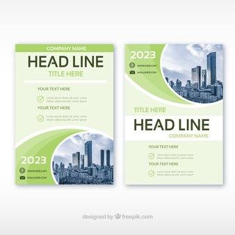 Corporate brochures template