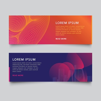 Corporate business banner designs