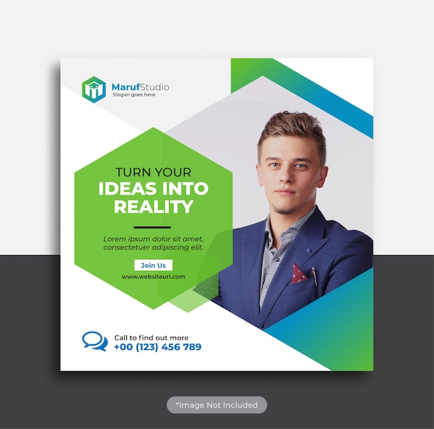 Corporate business banner template