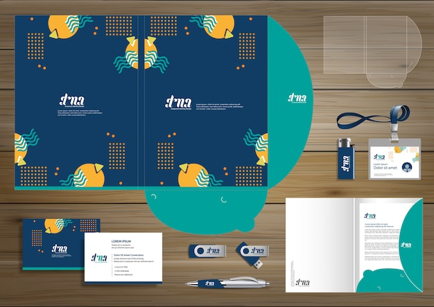 Corporate business branding templates