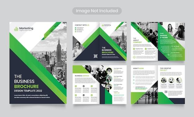 Corporate business brochure or company profile   template.