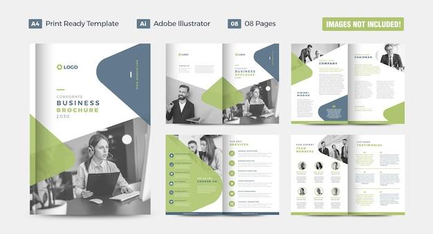기업 비즈니스 브로셔 디자인 또는 연례 보고서 및 회사 프로필 또는 소책자 및 카탈로그