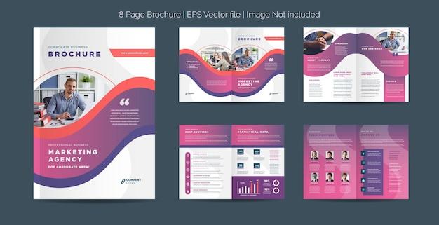 Corporate business brochure design