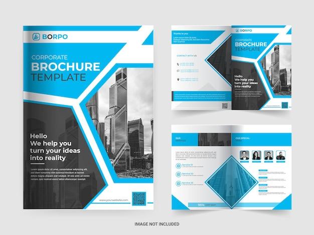 Дизайн шаблона брошюры корпоративного бизнеса