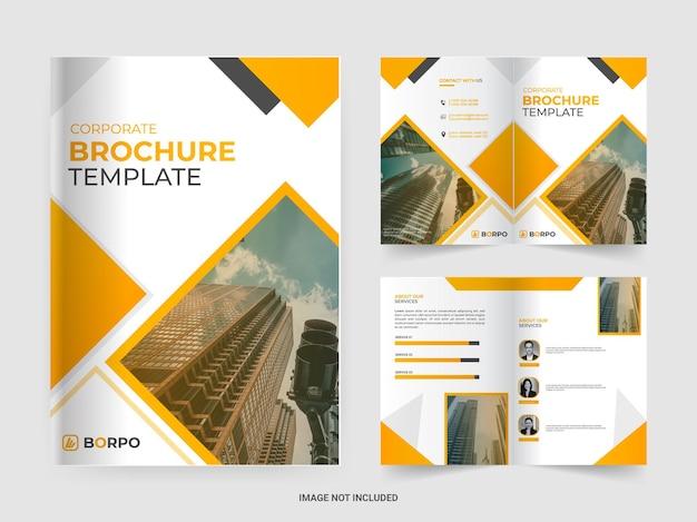 기업 비즈니스 브로셔 템플릿 디자인