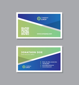 Corporate business card design | visiting card and personal business card