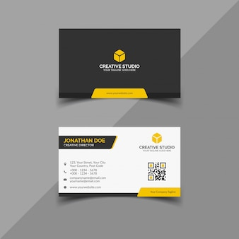 Corporate business card template.eps