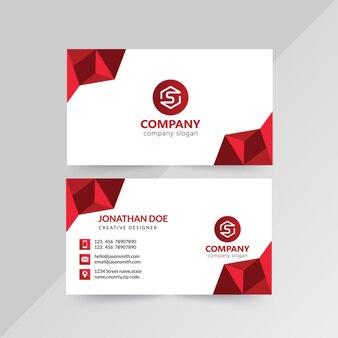 Корпоративные визитки спереди и сзади