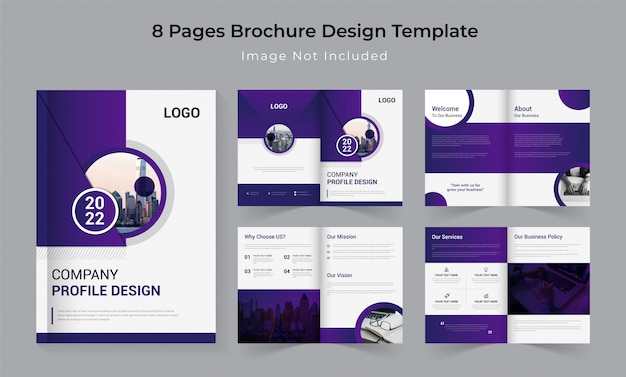 Corporate business company profile design