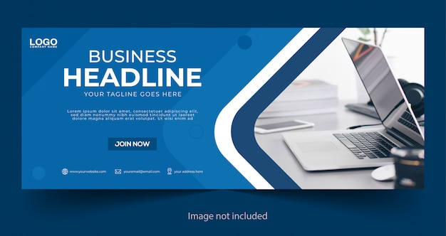 Corporate business facebook cover