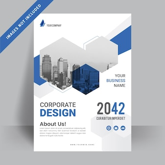 Corporate business flyer design template