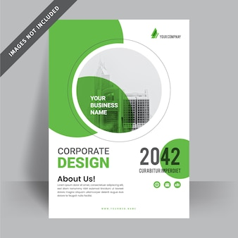 Corporate business flyer design template Premium Vector
