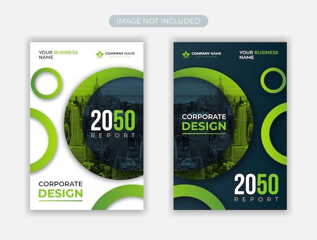Corporate business flyer design template