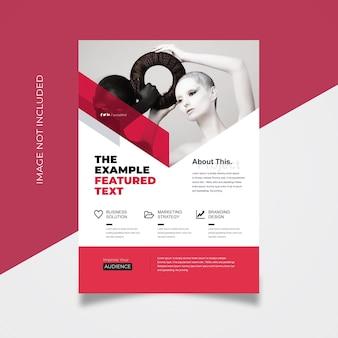 Corporate business flyer template Premium Vector