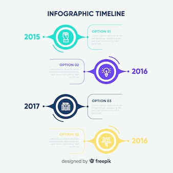 Corporate business infographic template, composition of infographic elements