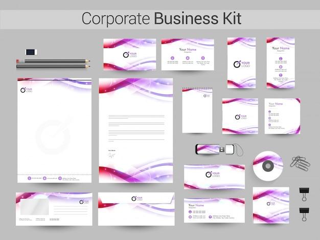光る波の企業向けビジネスキット。
