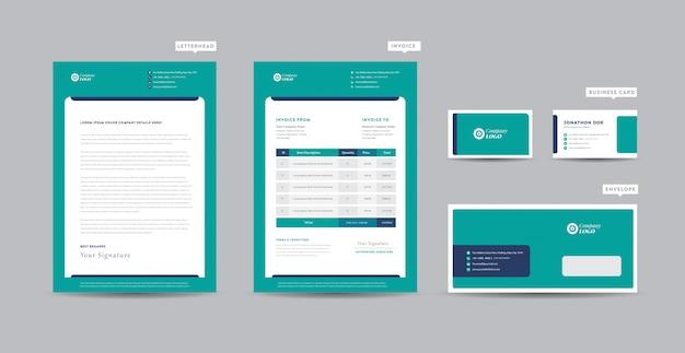 コーポレートビジネスレターヘッドデザイン|コーポレートアイデンティティ|ビジネスブランディング