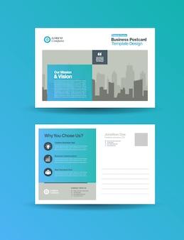 Corporate business postcard design | direct mail eddm design