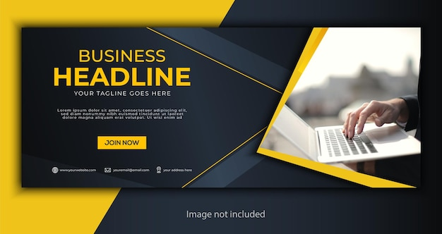Corporate business social media cover