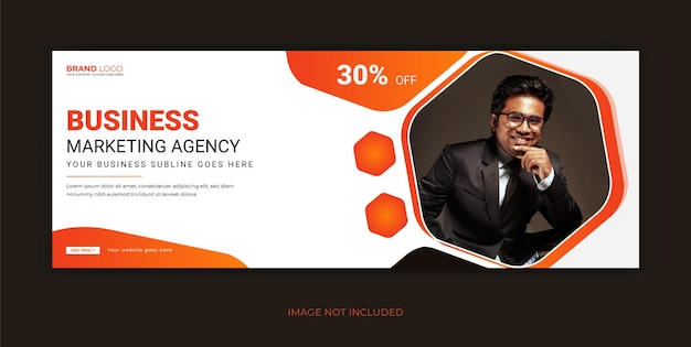 Corporate business social media facebook cover banner
