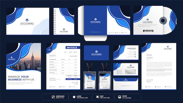 Corporate business stationery