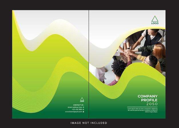 Corporate company profile cover