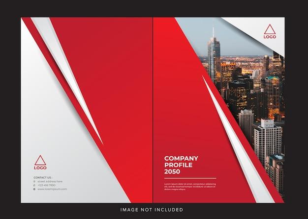 Corporate company profile design cover