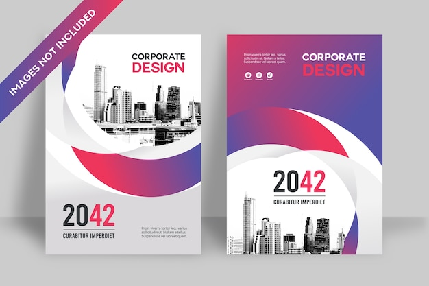 Corporate cover template