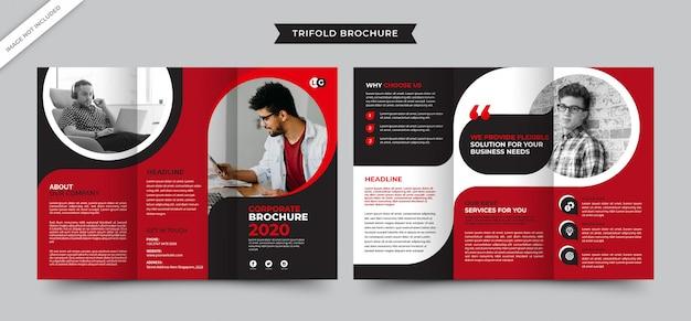 Corporate creative agency brochure