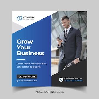 Corporate creative modern business web social media banner template