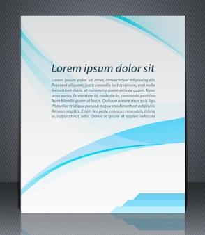 Рекламный шаблон корпоративного дизайна