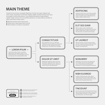 白い背景に企業のデザインテンプレート。広告、プレゼンテーション、ウェブデザインに役立ちます。