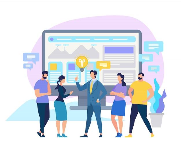 Corporate education business skills improvement