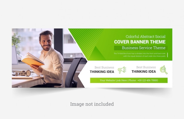 Corporate facebook cover banner