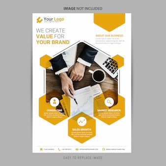 Corporate Flyer clean and simple