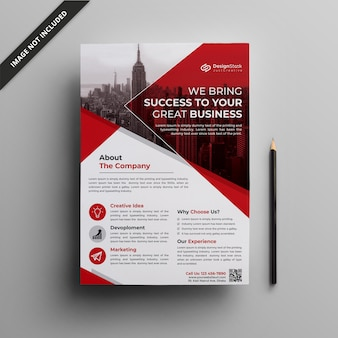Corporate flyer template | clean flyer template | business flyer
