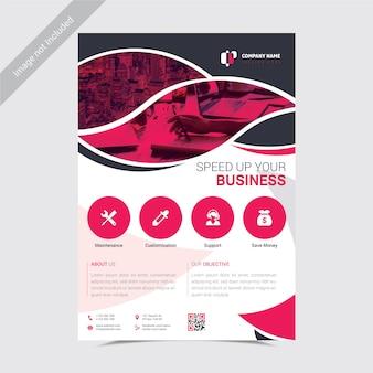 Corporate flyer template multipurpose