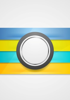 Корпоративный футуристический абстрактный фон. полосы и круг. векторный арт-дизайн