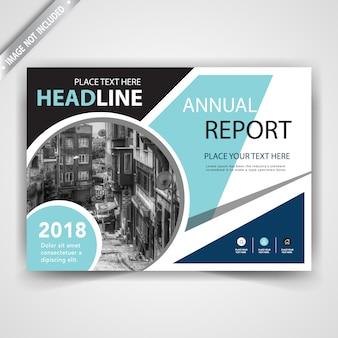 Corporate horizontal brochure